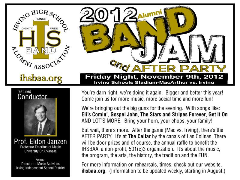 2012 Alumni Band Jam